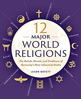 12 major world religions jason boyett book cover