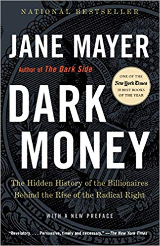 dark money jane mayer book cover