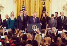 white house hannukah party pastor jeffress