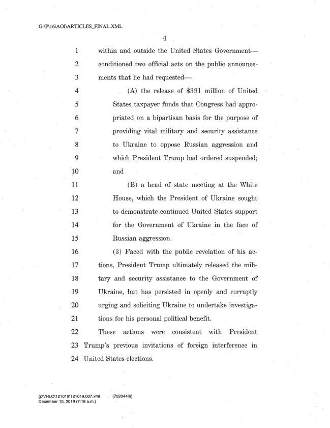 articles of impeachment 4