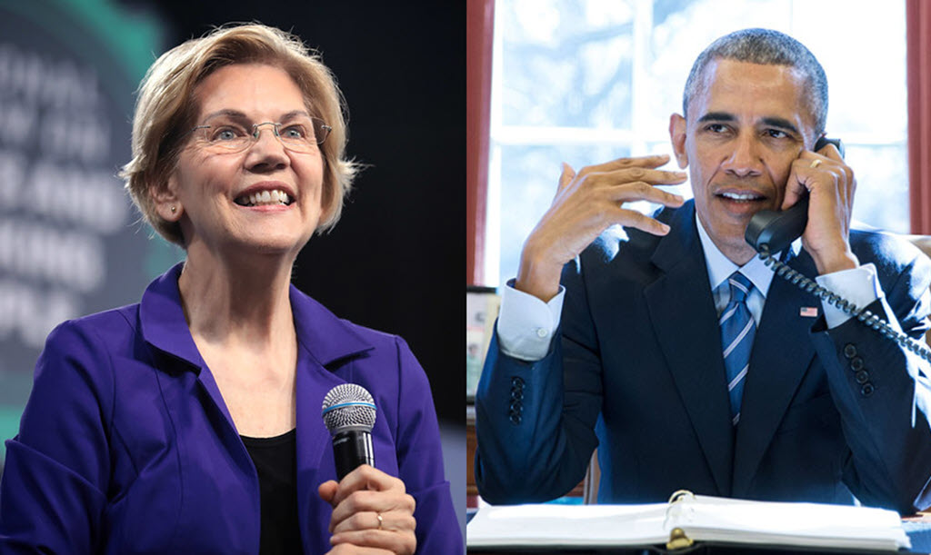 elizabeth warren obama election 2020 endorsement