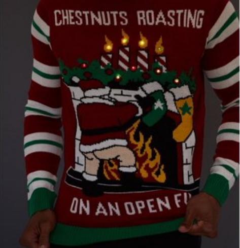 santa roasting his chestnuts walmart canada