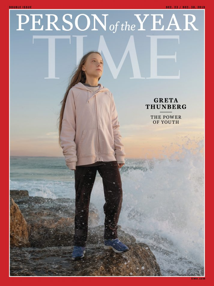 time magazine cover greta thunberg