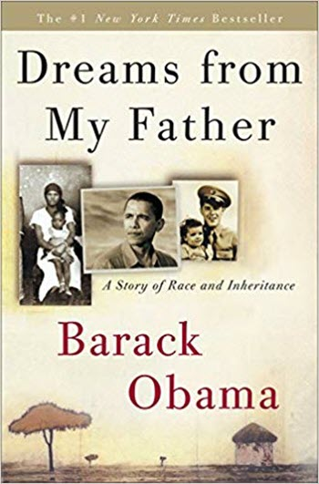 Barack Obama Dreams from my Father book cover