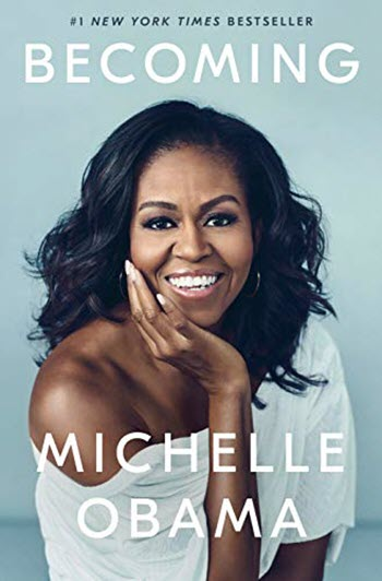 Michelle Obama book Becoming cover