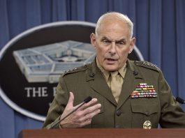 John Kelly Trump Ukraine call illegal defends Colonel Vindman