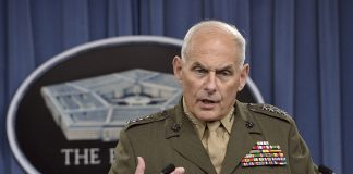 John Kelly Trump Ukraine call illegal defends Colonel Vindman